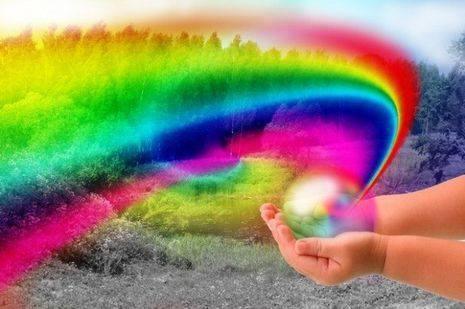 viața este un curcubeu